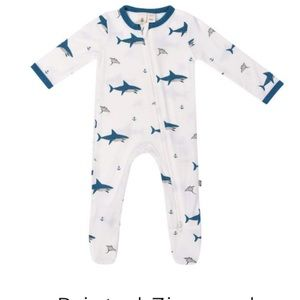 Kyte Baby One Pieces - Kyte Baby Zippered Footie